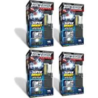 Bell + Howell Taclight LED Lantern with Automatic On/Off Function (Pull up OR push down), Collapsible As Seen On TV (Pack of 4)