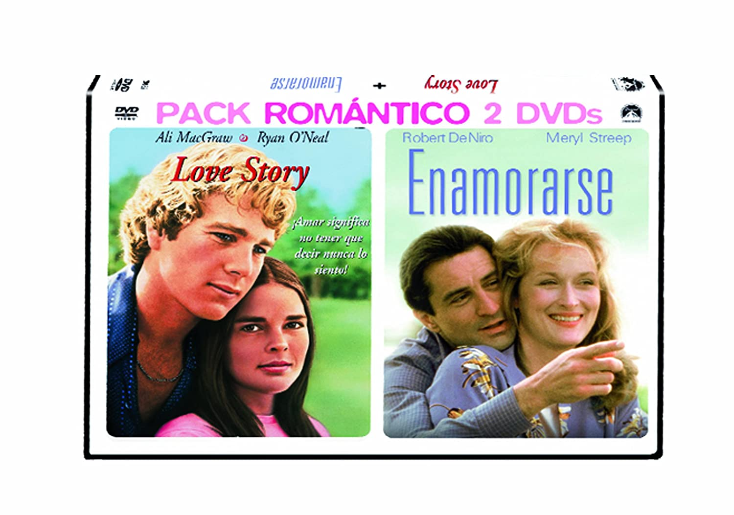 Pack Love Story + Enamorarse [DVD]: Amazon.es: Ali MacGraw, Tommy Lee Jones, John Merensky, Meryl Streep, Robert De Niro, David Clennon, Arthur Hiller, Ulu Grosba, Ali MacGraw, Tommy Lee Jones: Cine y