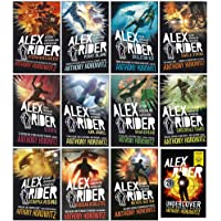 Alex Rider 12 Books Collection Set By Anthony Horowitz (World Book Day Undercover Four Secret Files & More From Alex…