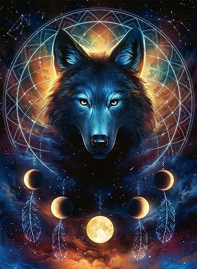 Ravensburger - Lobo brillante (13970): Amazon.es: Juguetes y juegos