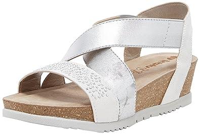 fdhjYSwBhjuk Shoes Sandals amp; Sling Bags INBLU Amazon Back Unica Women's wqq0ZY