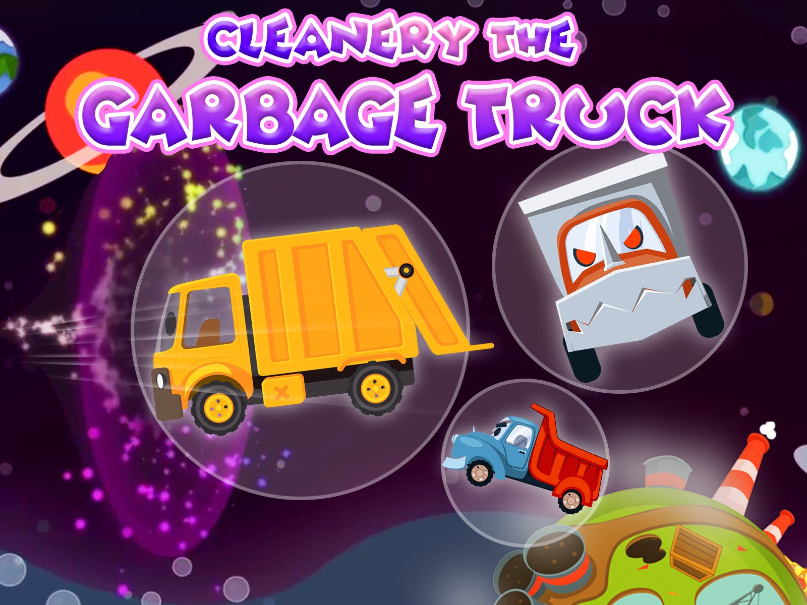 Cleanery the Garbage Truck on Amazon Prime Video UK