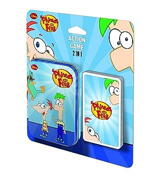 Phineas & Ferb Cartamundi 107554924101 Juego de cartas de ...