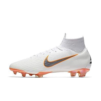 da181068a327 Amazon.com | Nike Men's Superfly 6 Elite FG Firm-Ground Football Boot (10 M  US) White | Soccer