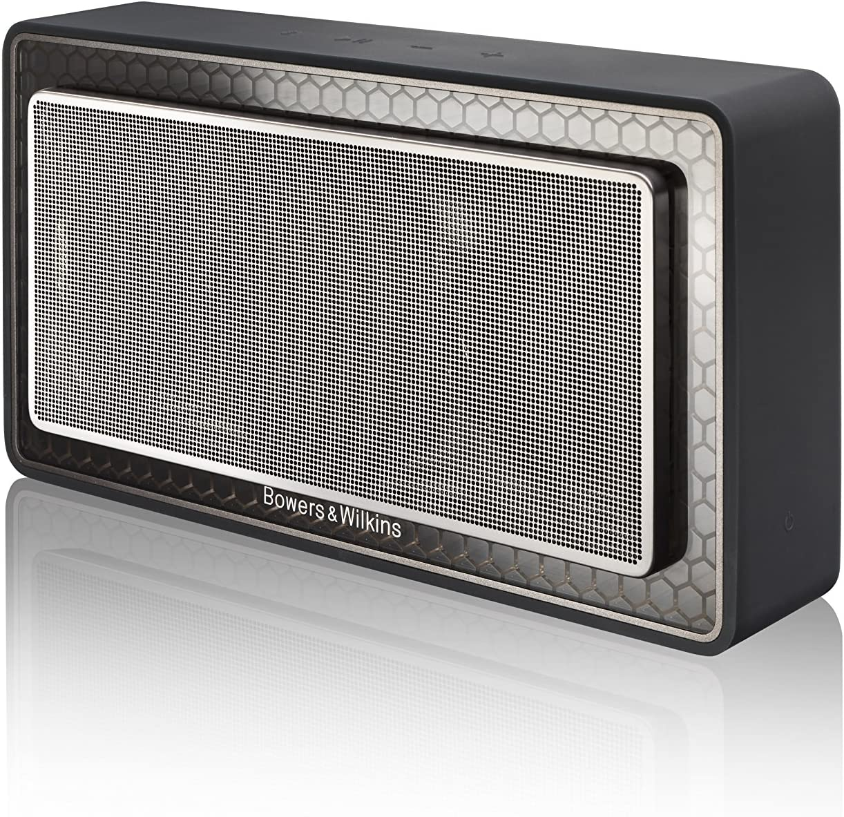 Black Bowers /& Wilkins T7 Portable Bluetooth Speaker Excellent Bass