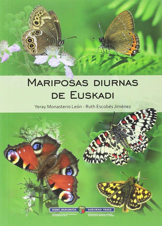 Mariposas diurnas de Euskadi: Amazon.es: Monasterio León, Yeray ...