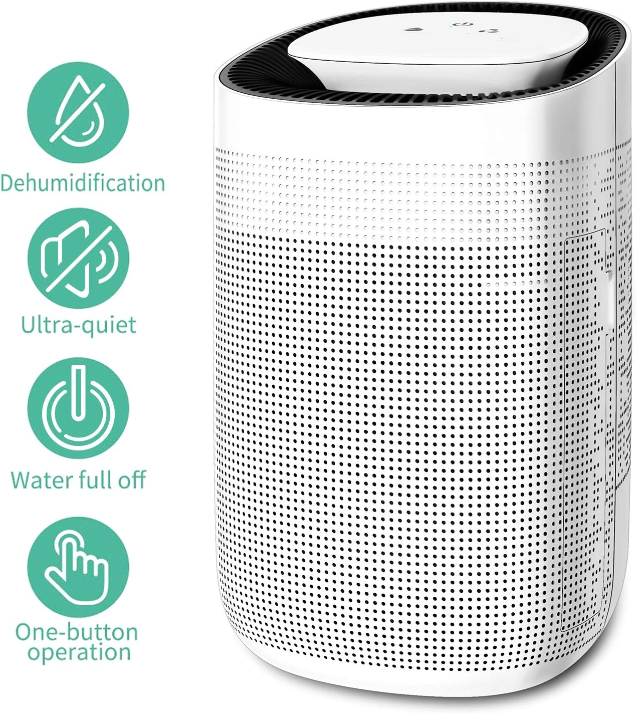 OTHWAY Cool Mist Humidifier 4L 1 Gallon Large Humidifier, Ultrasonic Humidification, Remote Control, Waterless Shut-Off, 360 Directional Spout, Adjustable Timer Settings, Vaporizer Humidifier