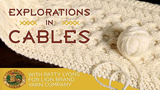 Amazoncom Explorations In Cables Patty Lyons Knit And Crochet