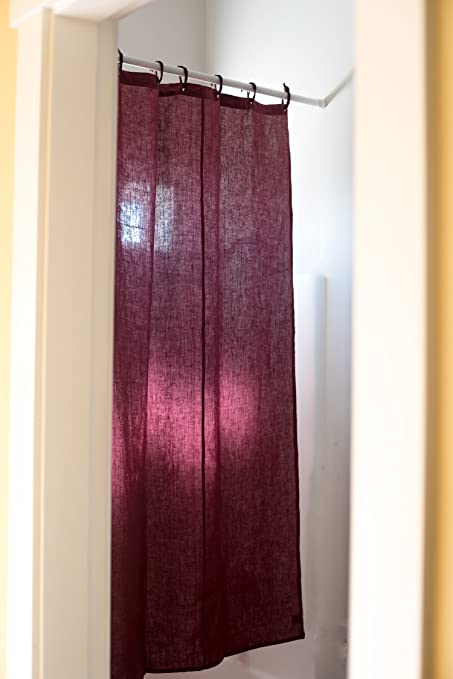 Organic Hemp Shower Curtain Full Size 735quotx72quot