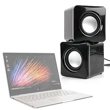 """DURAGADGET Altavoces Compactos para Portátil Xiaomi Mi Notebook Air 12.5"""" / 13.3"""" - Tamaño"""