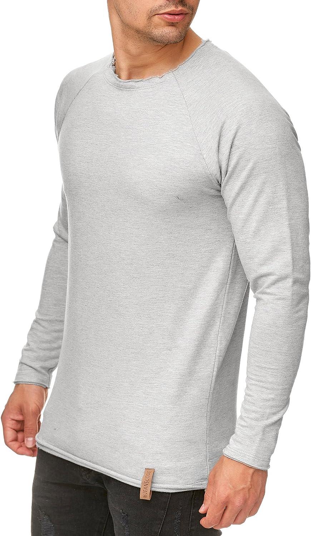 Indicode Homme Pulls Sweatshirt Slim Pullover Sweatshirt Recife