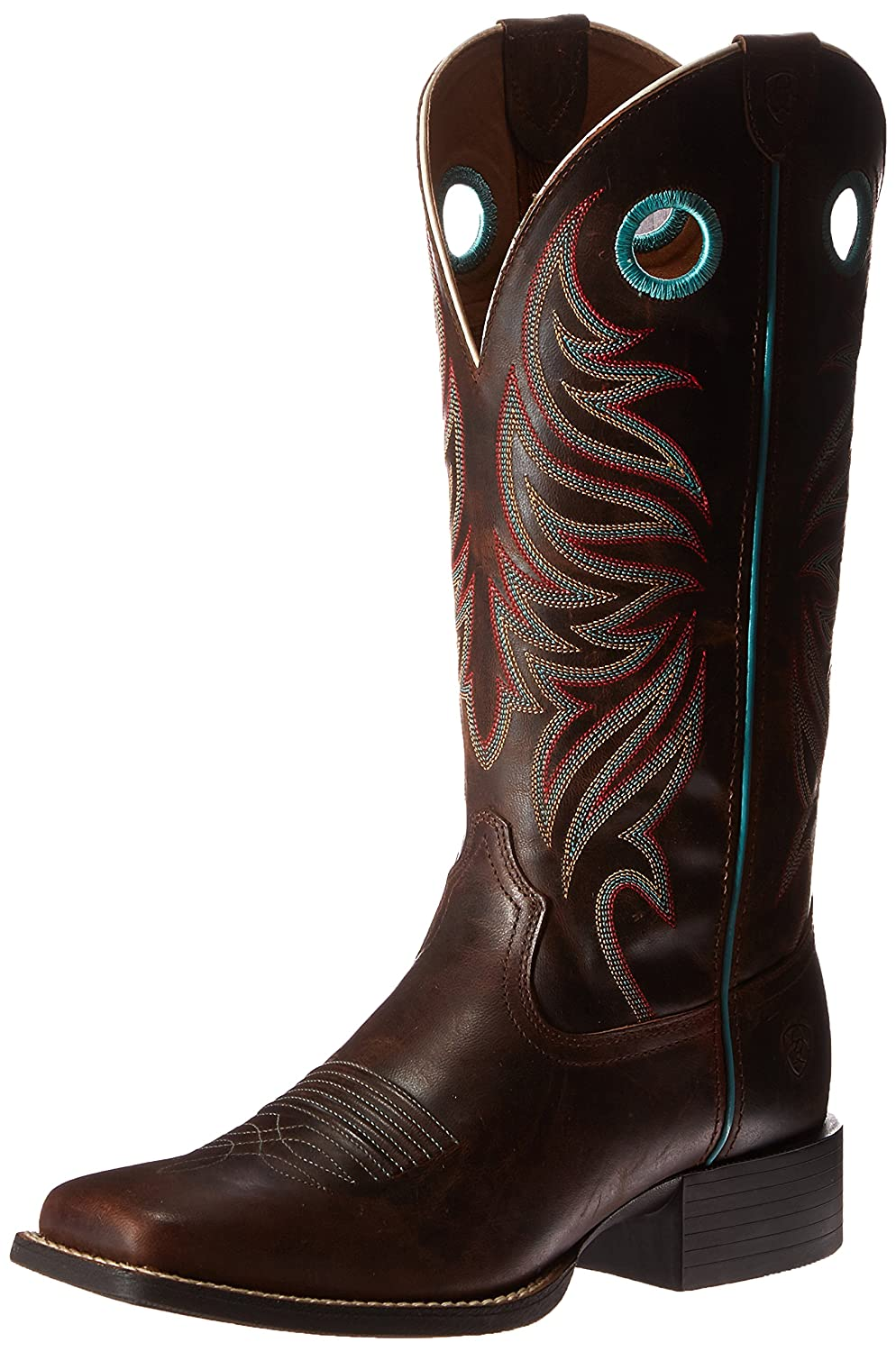 Ariat Women's Round up Ryder Western Cowboy Boot B013J24F42 7.5 B(M) US|Sassy Brown