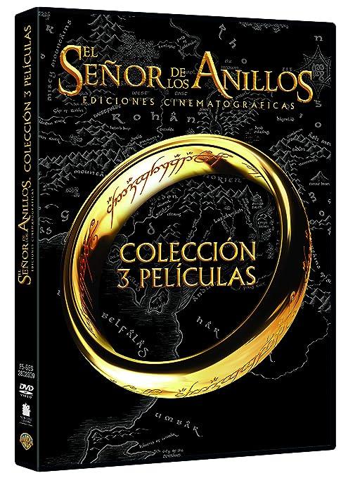 Trilogía El Señor De Los Anillos Cinematográfica DVD: Amazon.es ...