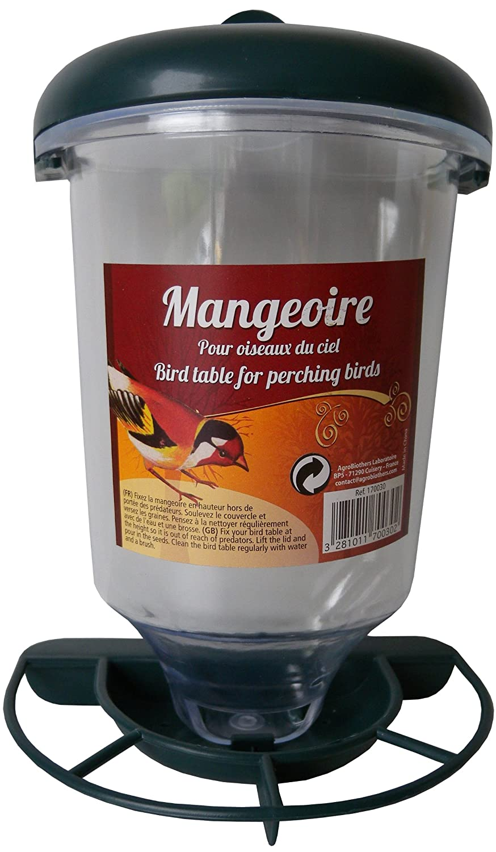 Aime Mangeoire Plast Window Oiseaux Du Ciel Agrobiothers 170030