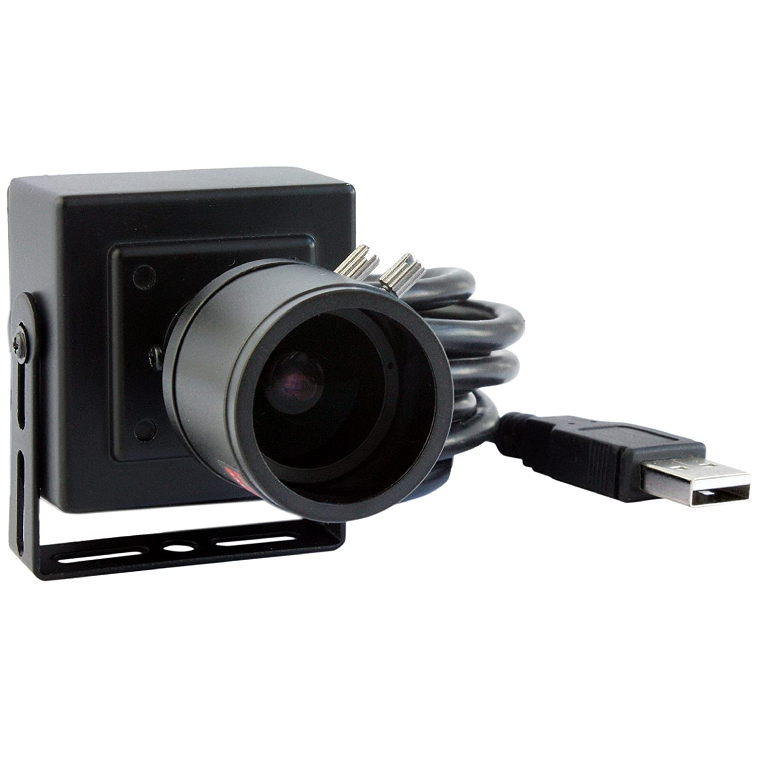ELP 2.8-12mm Lens Varifocal Mini Box USB camera 1.3megapixel for Linux Android Windows System Ailipu Technology Co. Ltd