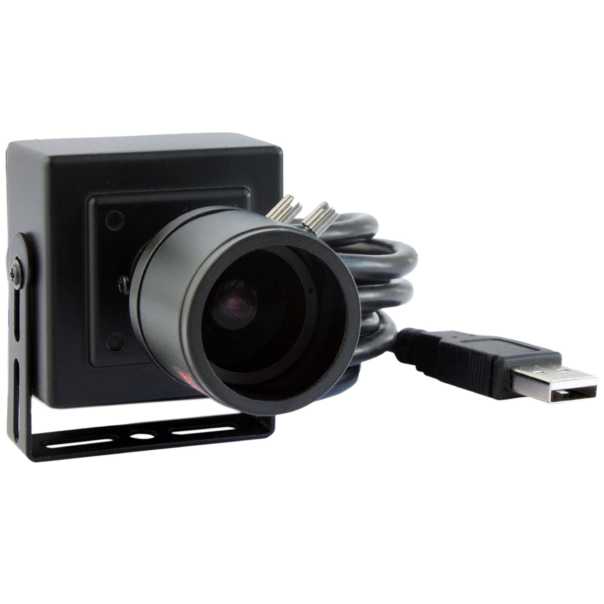 ELP 2.8-12mm Lens Varifocal Mini Box USB camera 1.3megapixel for Linux Android Windows System by ELP