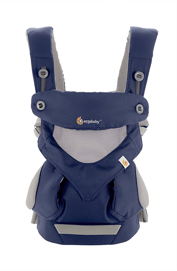 124 opinioni per Ergobaby 360 Babycarrier blu