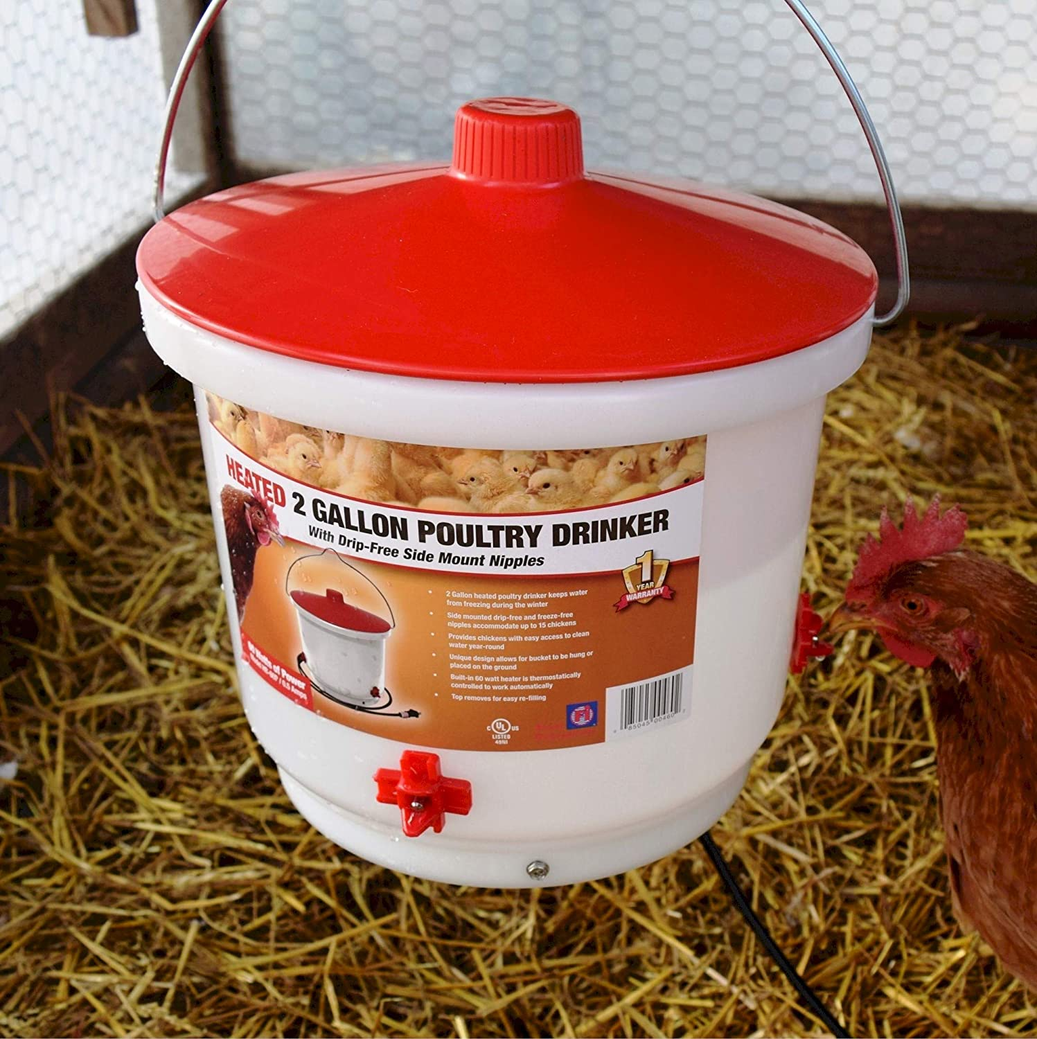 Farm Innovators Heated Poultry Fount
