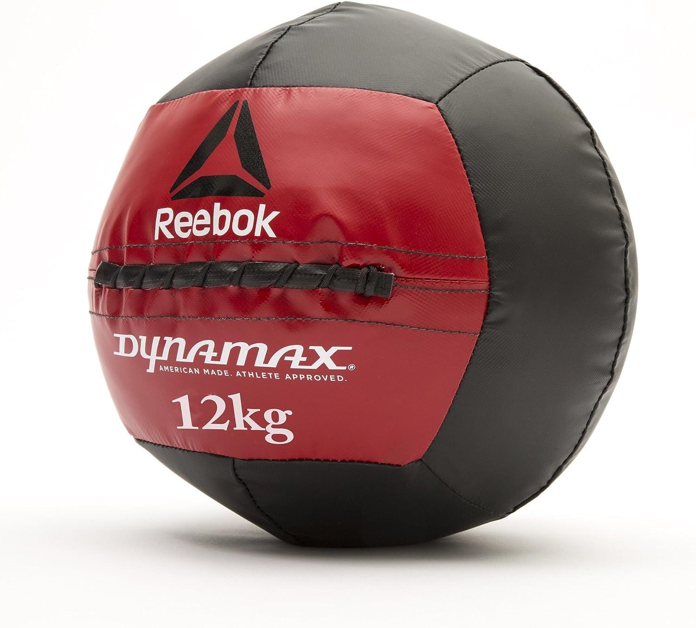 Reebok Dynamax Balón Medicinal, Negro, 11 kg: Amazon.es: Deportes ...