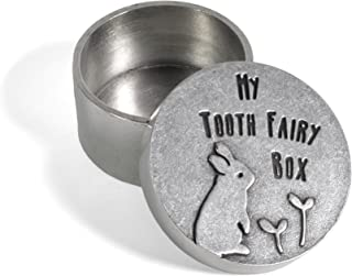product image for Beehive Handmade Bunny Rabbit Pewter Tooth Fairy Box
