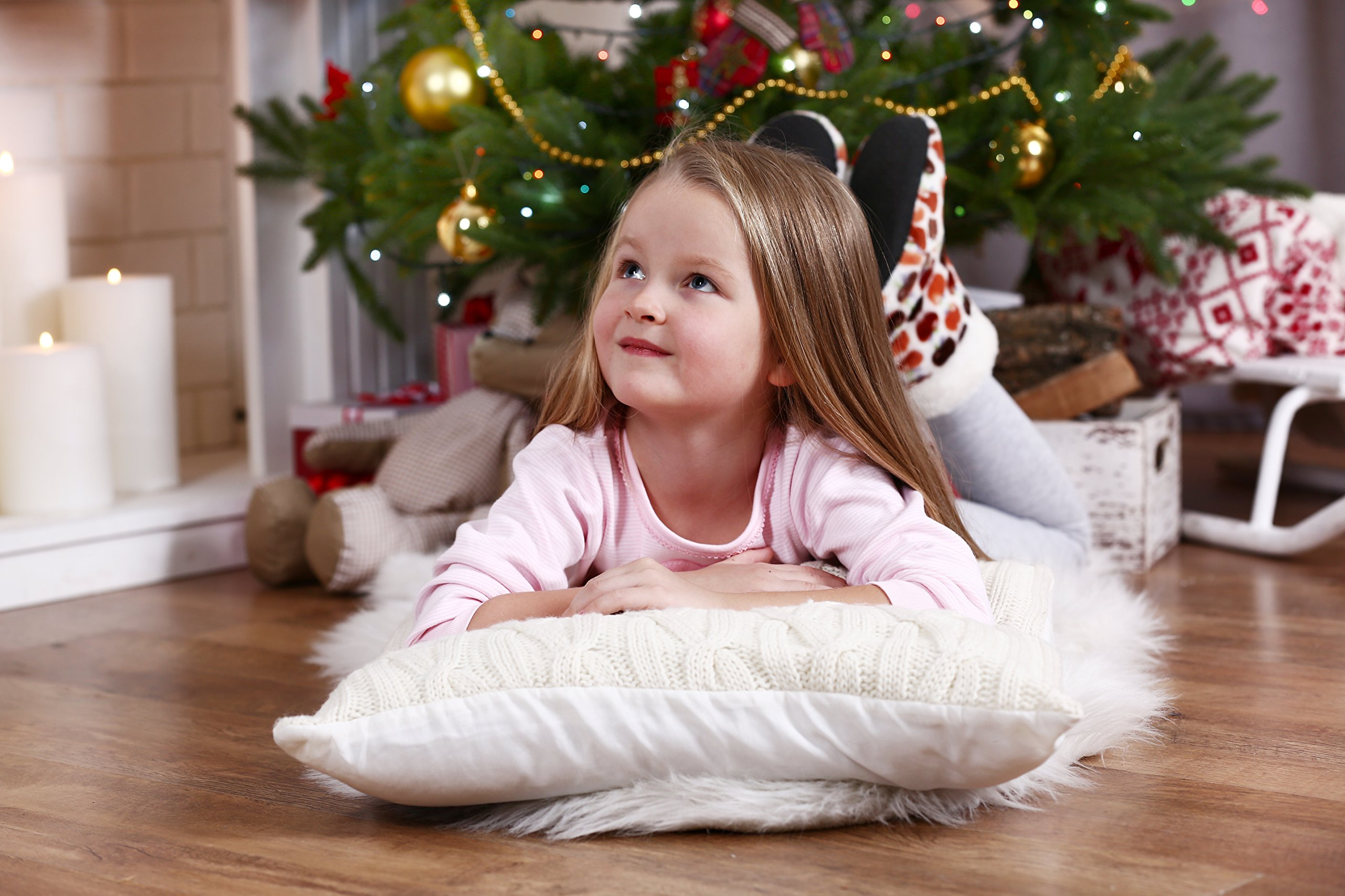 kinder Fluff Toddler/Travel Pillow -No extra Pillowcase/Sham needed-The only Pillow with 300T Cotton and Cluster fiber fill- Hypoallergenic and Machine washable by kinder Fluff (Image #6)