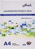 GBC Pochettes de Plastification, Format A4, Brillant, 2x125 Microns, Lot de 100
