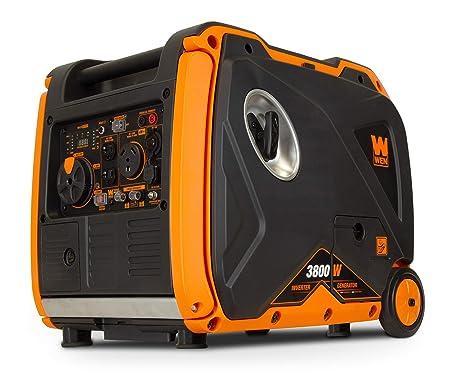 WEN 56380i Super Quiet 3800-Watt Portable Inverter Generator