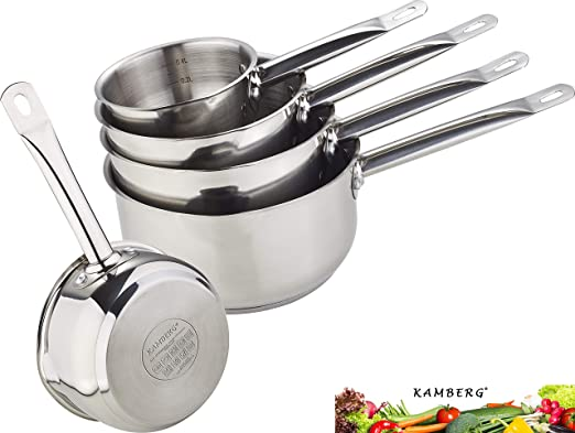 Kamberg 0008077 Gamme Pro Set Lot Batterie 5 Casseroles 12