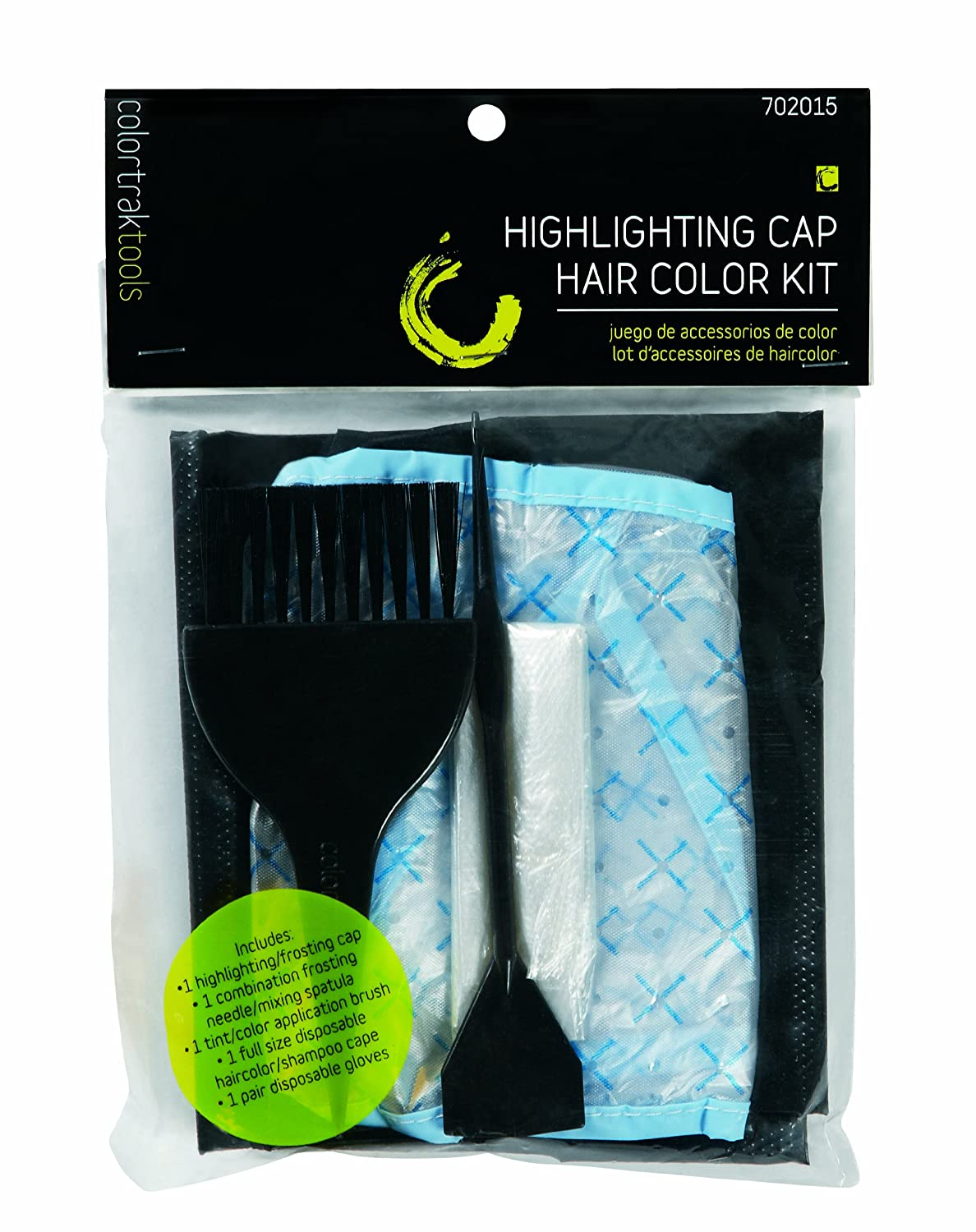 Amazon.com : Colortrak Hair Color Accessories Kit for Home ...