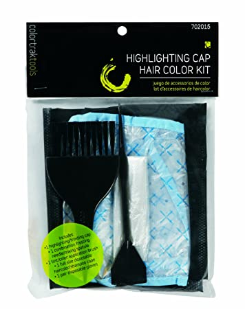 Colortrak Hair Color Accessories Kit for Home Haircoloring Use