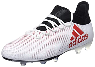 online store 338a8 0adae adidas X 17.2 FG, Chaussures de Football Homme, Multicolore  (Greyreacorcblack), 40