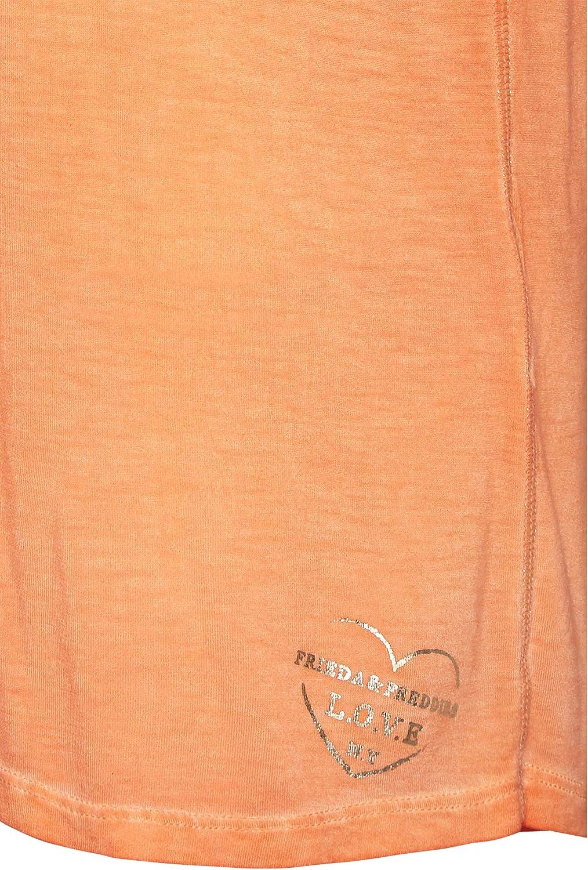 Frieda & Freddies 9218 - Maglietta da donna Rosso Auto