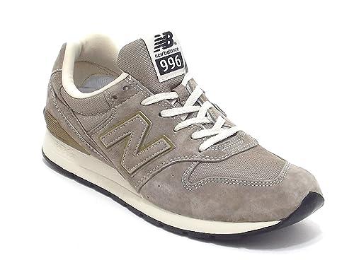 New Balance scarpe uomo, MRL 996 HF, sneakers in camoscio e tessuto, colore