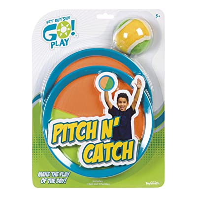 Toysmith Pitch N Catch Playset: Toys & Games