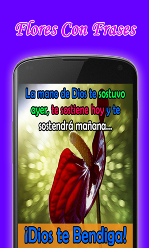 Amazon Com Flores Con Frases Appstore For Android