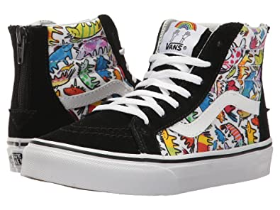12f10c99d7 Image Unavailable. Image not available for. Color  Vans Dallas Clayton Unicorn  SK8 Hi Zip kids youth Shoes ...