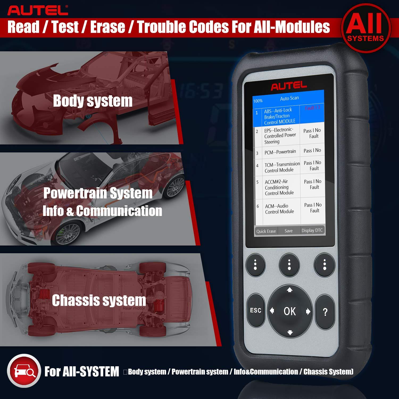EPB Dpf Autel MaxiDiag MD806 PRO OBD2 Auto Diagnostica Scanner Lettore Codici OBD Tutti i Sistemi con Funzioni di Reset Dellolio SAS BMS Acceleratore Servizi