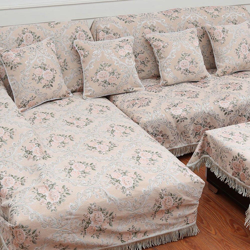 European style sofa cover sofa full cover sofa towel Non slip composite fabric sofa C 180x360cm(71x142inch) by Sofa towel