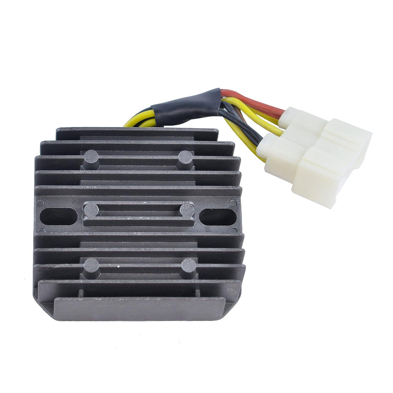 Voltage Regulator Rectifier For Kawasaki KLF 400 Bayou/KVF 400 Prairie 1993-1999 OEM Repl.# 21066-1078 RMSTATOR