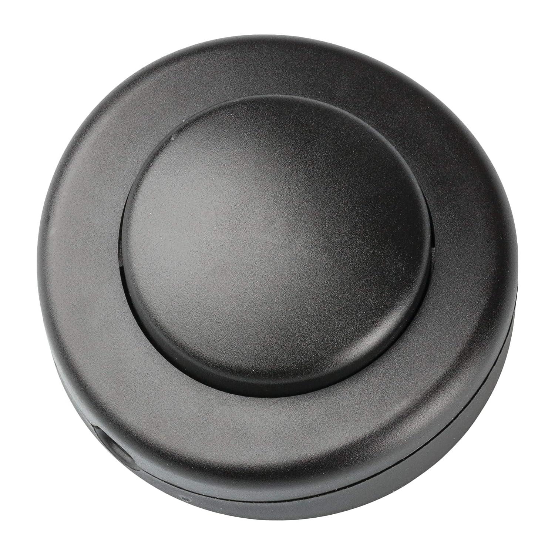 Legrand, Interruptor De Pie Para Lampara Negro, Medidas 5Cm ...