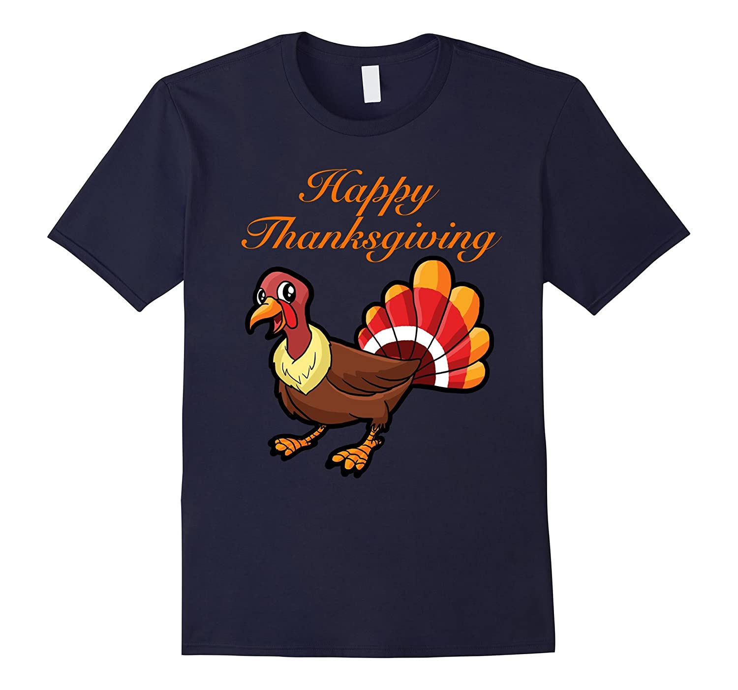 Happy Thanksgiving - Turkey Day T-Shirt-ANZ