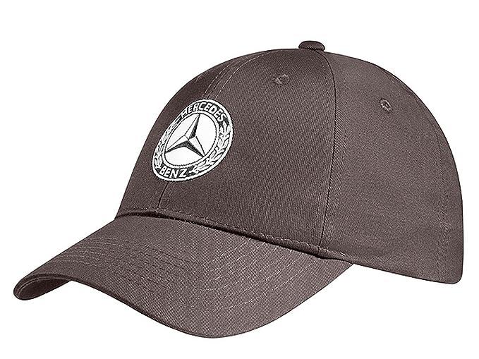 Mercedes-Benz - Gorra de béisbol - para Hombre Marrón marrón Talla única: Amazon.es: Ropa y accesorios