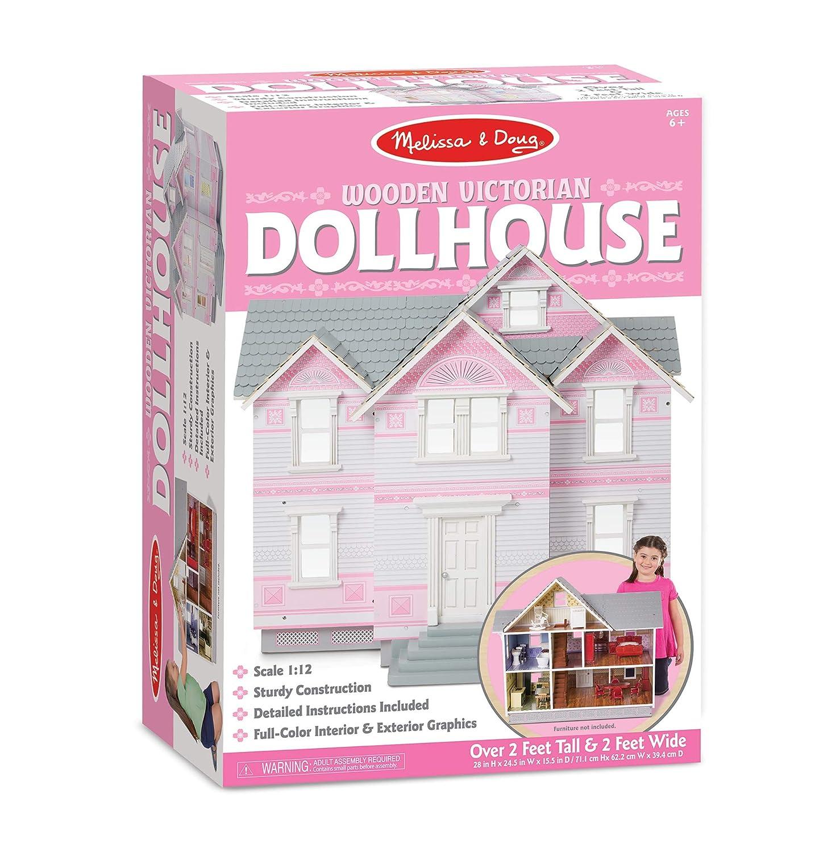 Amazon.com: Melissa & Doug Classic Heirloom Victorian Wooden ...