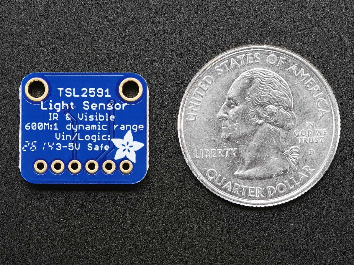 Adafruit Tsl2591 High Dynamic Range Digital Light Sensor [a