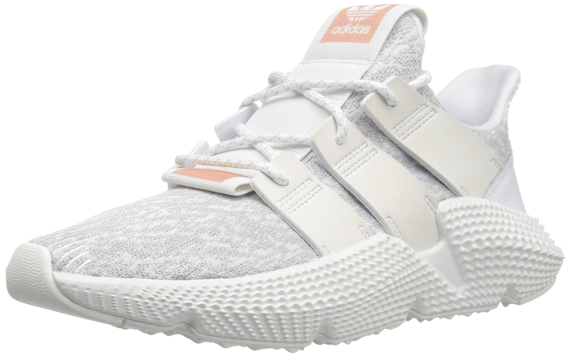 adidas Originals Women's PROPHERE Running Shoe, WhiteSuper Collegiate, 10 M US