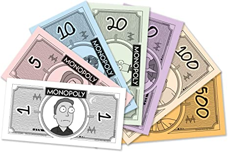 Winning Moves – Monopoly Rick y Morty, 0262, Version Francesa: Amazon.es: Juguetes y juegos