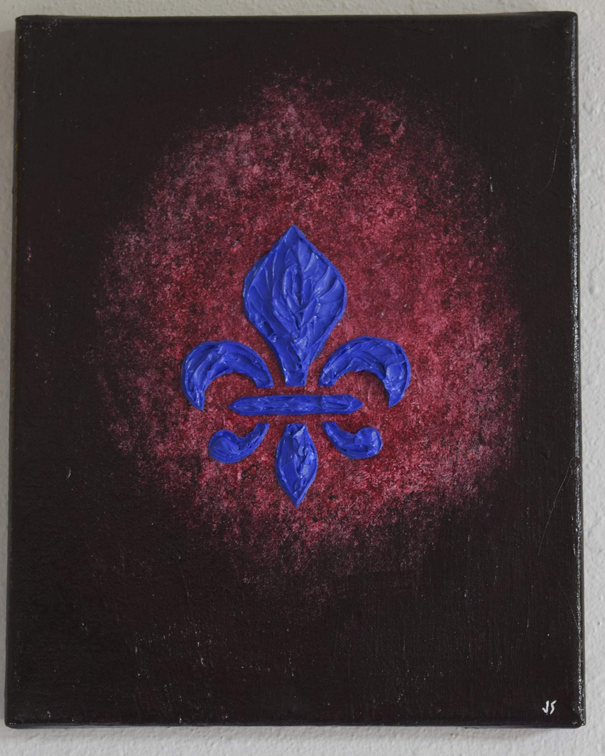 Fleur de Lis (Cobalt)