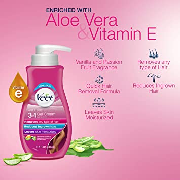 Amazon Com Hair Remover Veet Gel Hair Removal Cream Sensitive
