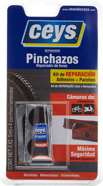 CEYS 505016 Adhesivo reparador pinchazos, Azul, 0