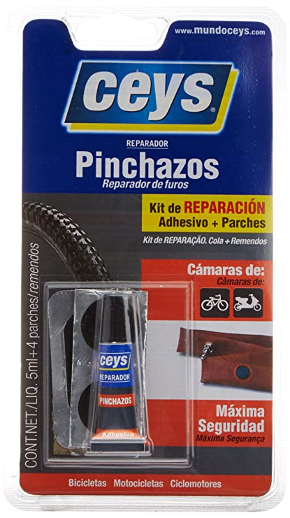 CEYS 505016 Adhesivo reparador pinchazos Azul 0